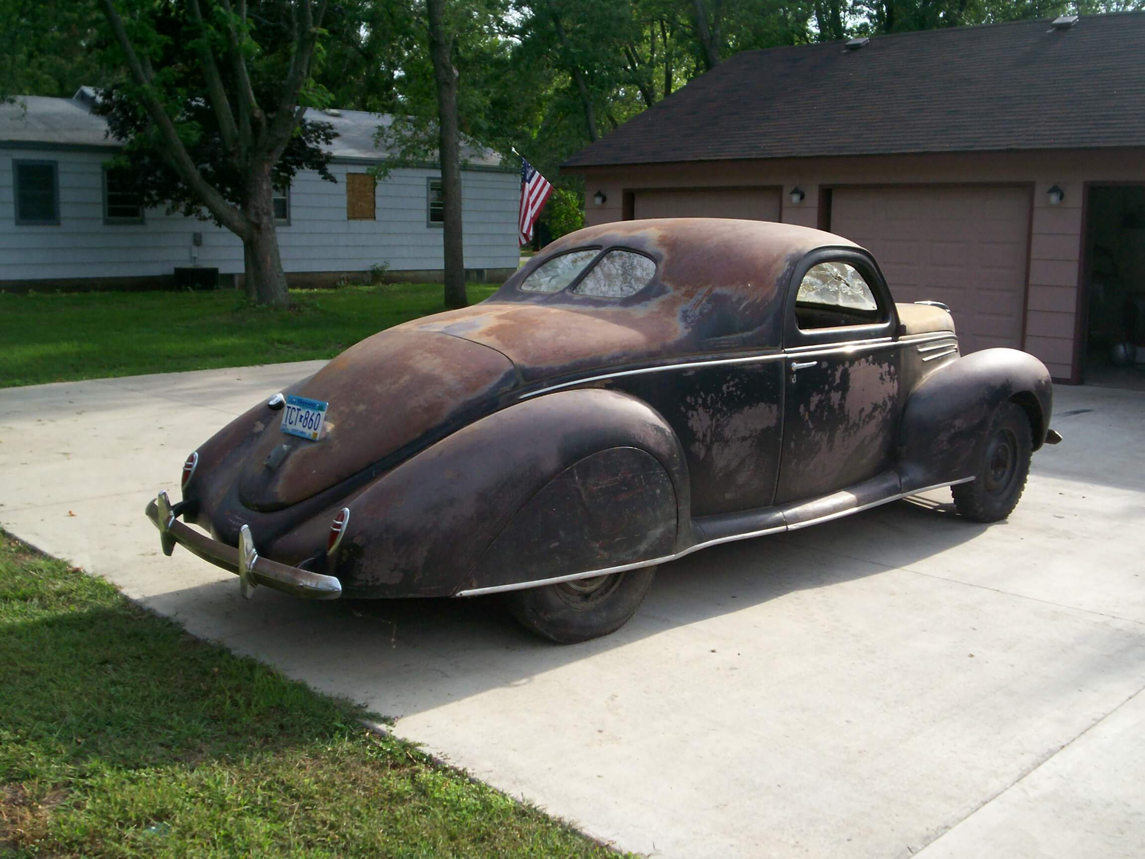Dave S 1939 Lincoln Zephyr Hot Rods By Dean
