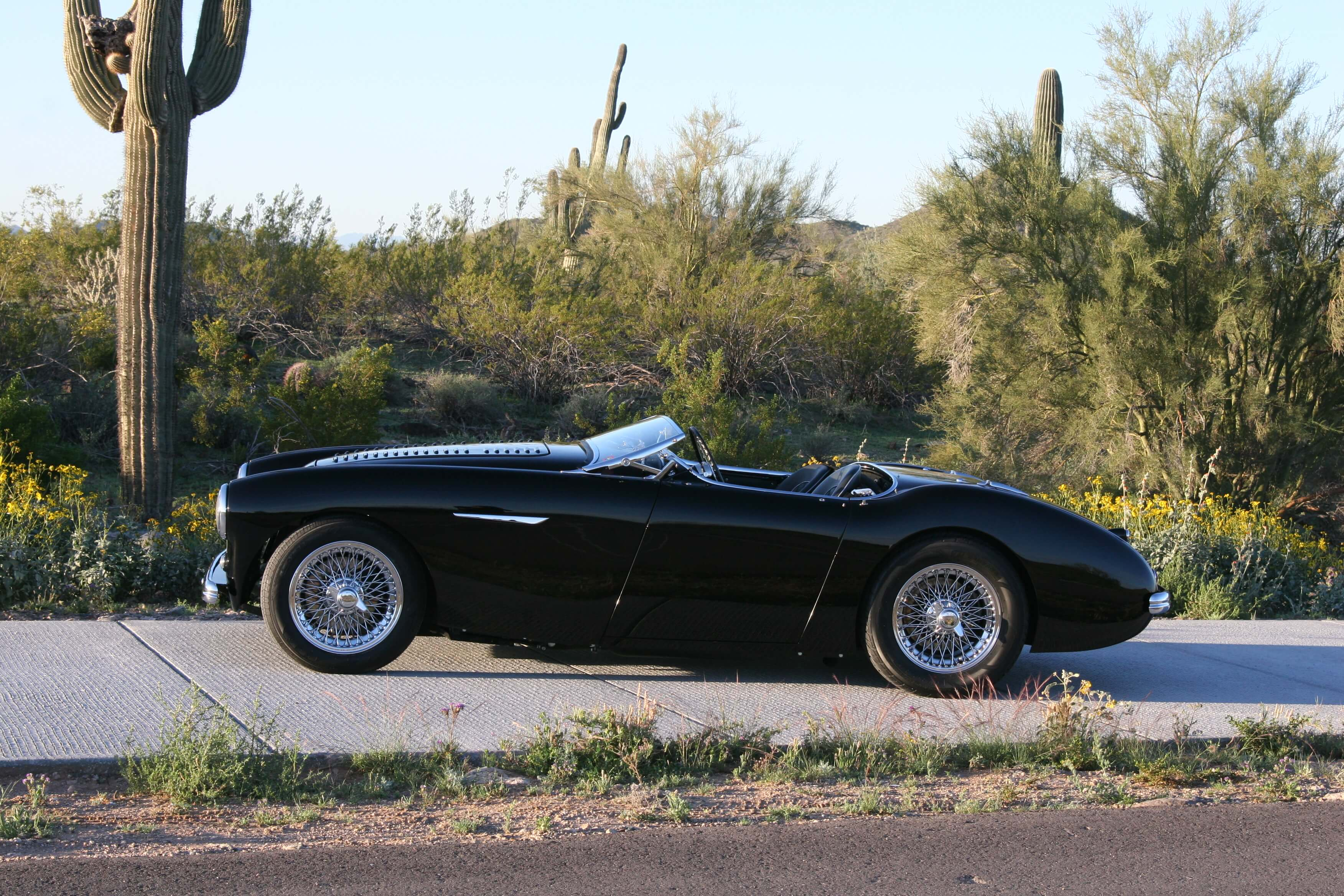 Ed's 1955 Austin Healey 100 - Hot Rods by Dean
